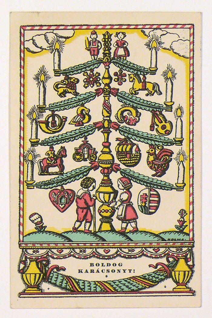 Kner Izidor - Kozma Lajos : Boldog Karácsonyt! 1936.