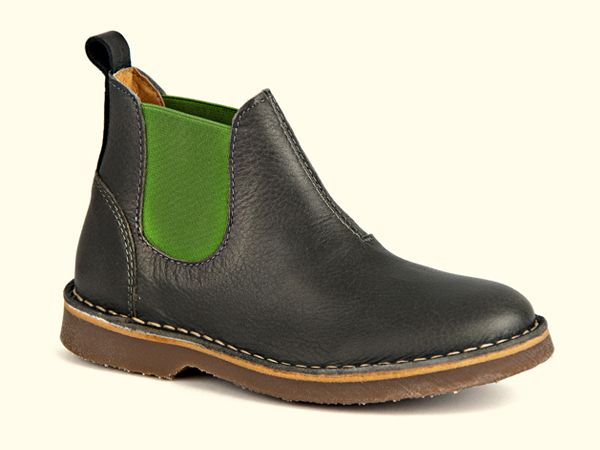 NR.7 Chelsea boot grey-green