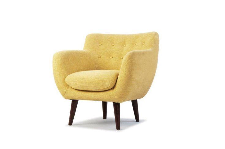 Er helt vild med denne stol ❤️ MD 461 - 1S, Fabric Etna Curry, Angle