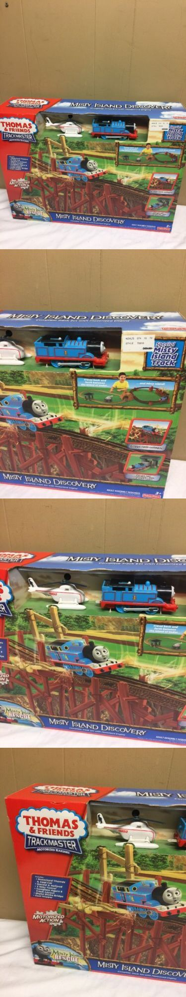 Other Thomas Toys 2629: Fisher Price Thomas And Friends Trackmaster Misty Island Discovery New!!! -> BUY IT NOW ONLY: $69.99 on eBay!