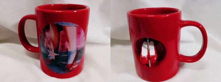 Wizard Of Oz Dorothy Ruby Red Spinning Slippers Ceramic Mug Turner Entertaiment