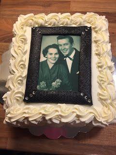 60-vuotis hääpäiväkakku / 60-years wedding cake