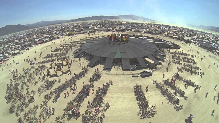 Go to Burning Man.... Burning Man 2013: In the Dust, Above the Dust