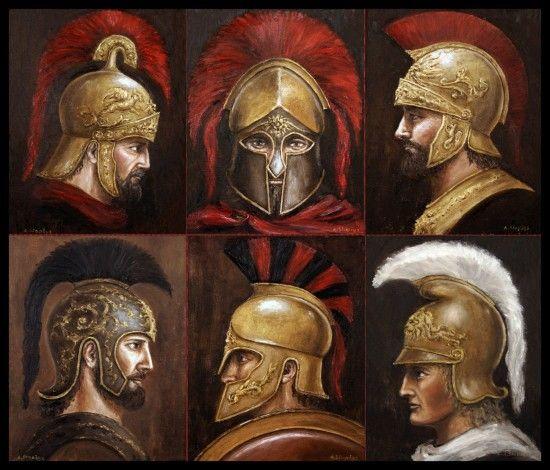 Ancient Spartan Warriors | Ancient Greek warriors | Arturas | Foundmyself