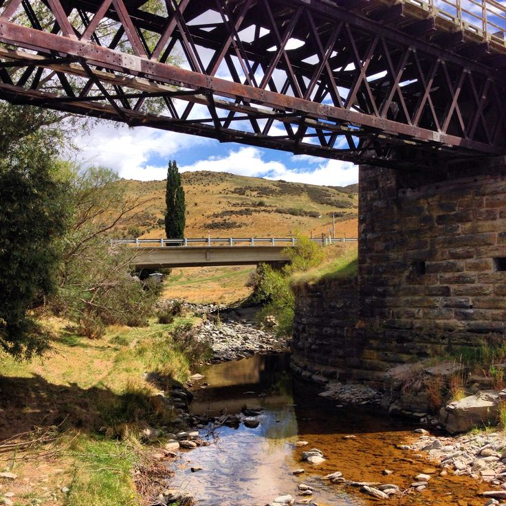 Daisybank Station of the Otago Rail Trail