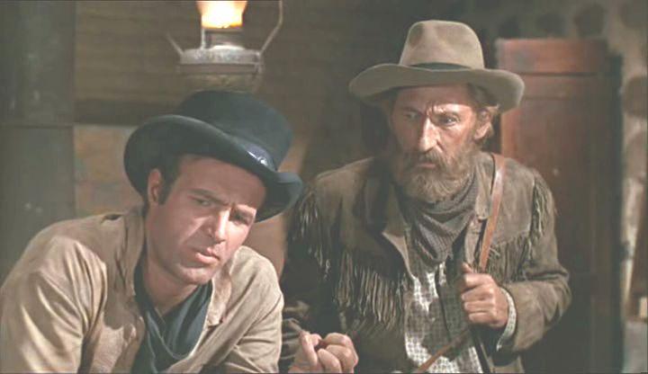 "James Caan and Arthur Hunnicutt - ""Eldorado"" (1967)"