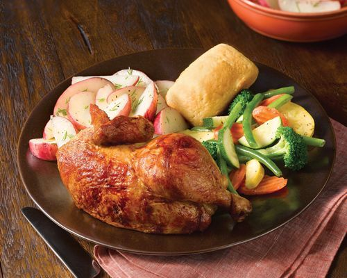 """The fast-casual restaurant chain is offering a """"Tax Day Deal Chicken Meal"""" on April 15, when all guests can receive two half-chicken individual meals for just $10. Description from restaurantnews.com. I searched for this on bing.com/images"""