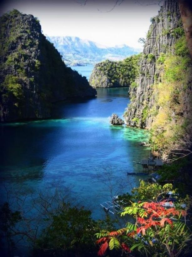 Coron, Philippines — by Raquel. The majestic Cayangan Lake