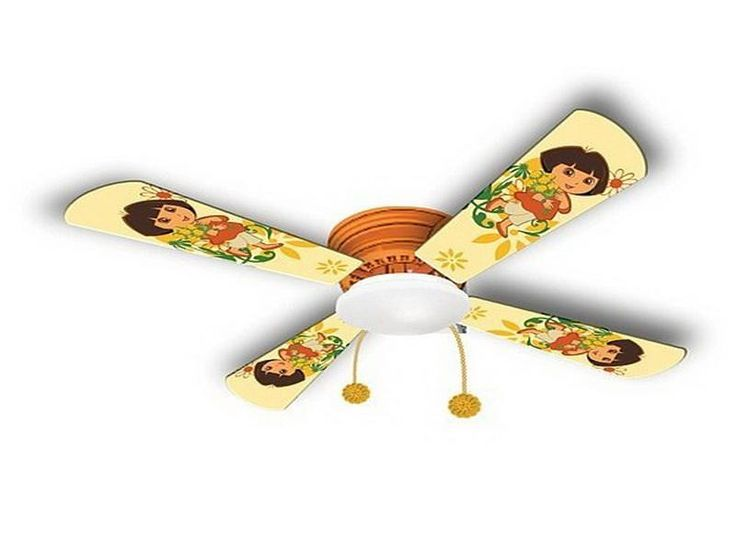 32 best images about small ceiling fans pictures to for Kids room ceiling fan