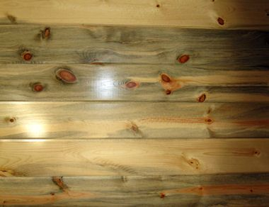 Stained Pallet Wood Wall Interior Wood Paneling Blue