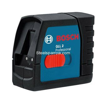 Steelsparrow is a place to buy Bosch Make Digital Measuring Tools GLL 2 Cross Line Laser Level, Part No. 0601063700 by Online with Affordable Prices @ www.steelsparrow.com