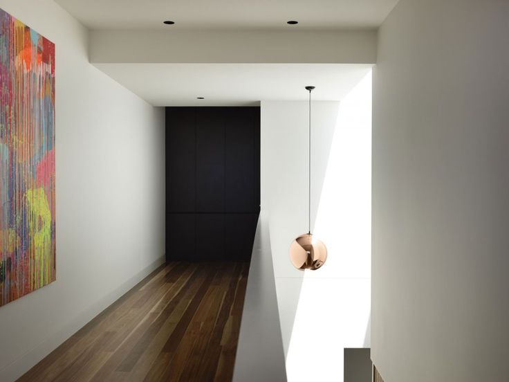 Unique Exterior Wall Concept from a House in Australia: Interest Of  Breezeway  In Torquay House With White Wall Dominantly Which Covered Pa...