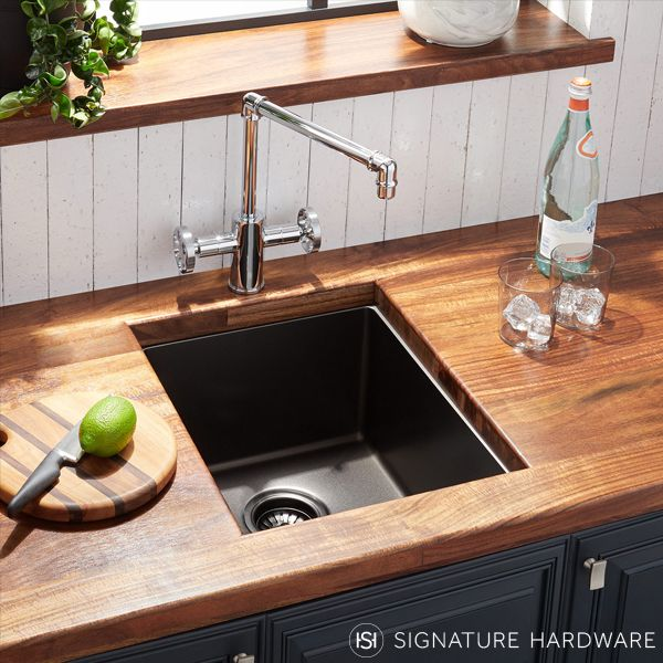 The Atlas Stainless Steel Undermount Sink At Signature Hardware Is