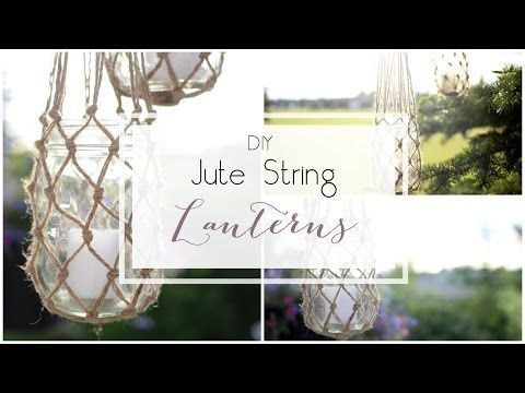 Jute String Lanterns - Love Create Celebrate