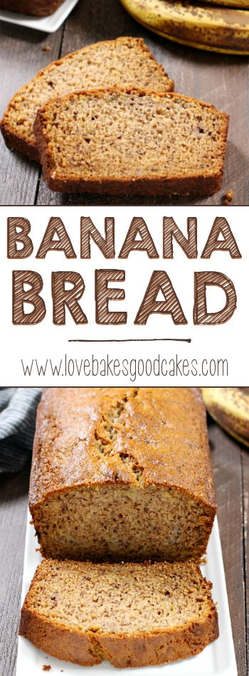 The BEST BANANA BREAD my family has ever had!! This is our new go-to recipe!!