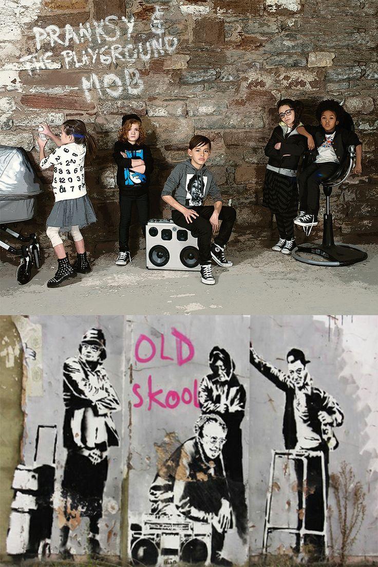 Pranksy vs Banksy. Katrina Tang Photography for Babesta magazine.