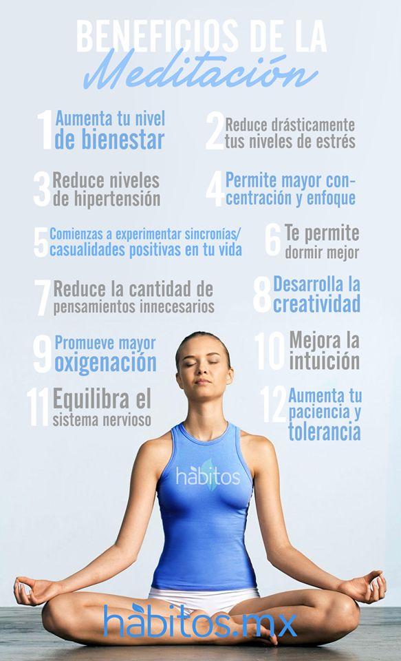 Hábitos Health Coaching   ¡Beneficios de la meditación!