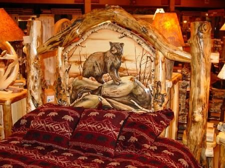 Find This Pin And More On Log Furniture