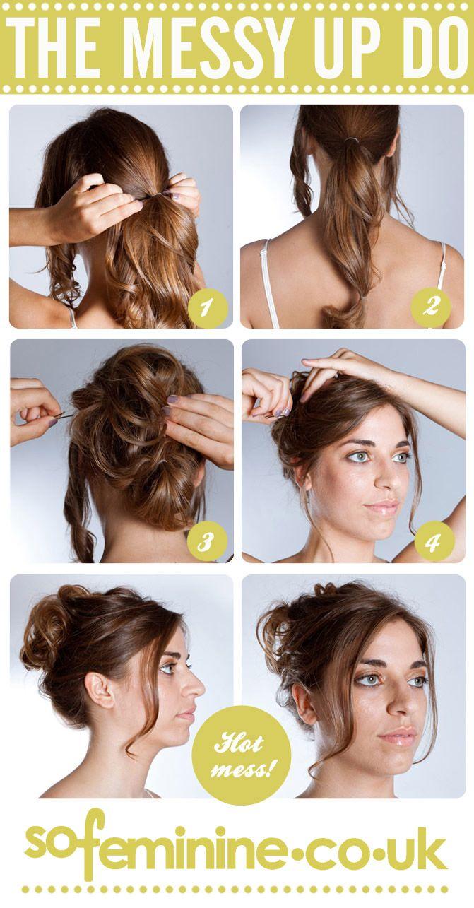 best easy hair images on pinterest