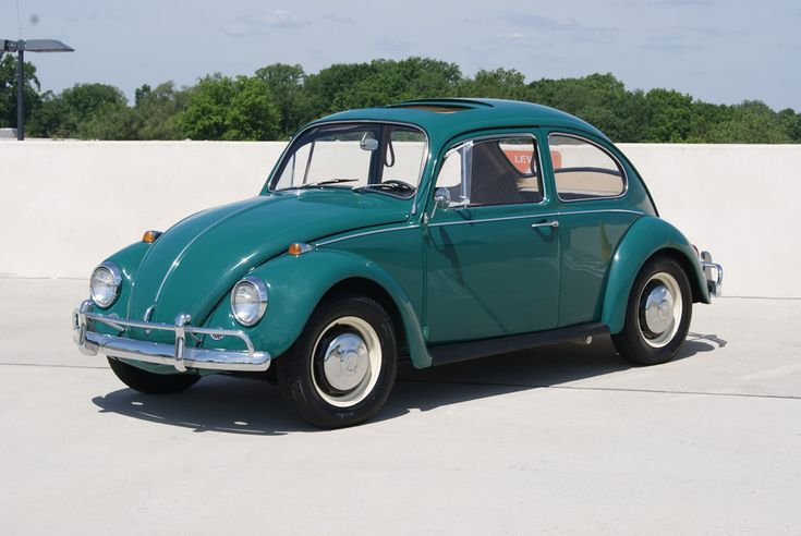 For Sale — L518 Java Green '67 Beetle