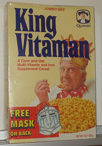 King Vitaman, have breakfast with the King