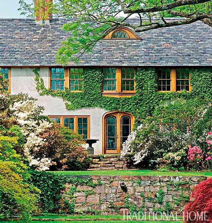 Les 1065 meilleures images du tableau elegant homes and - Cottage anglais connecticut blansfield ...