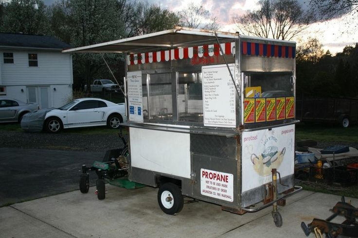 Hot Dog Cart Business For Sale
