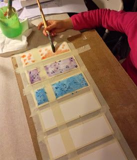 icoloridilaura: Segnalibri per le maestre di Folletta...acquerello e sale..