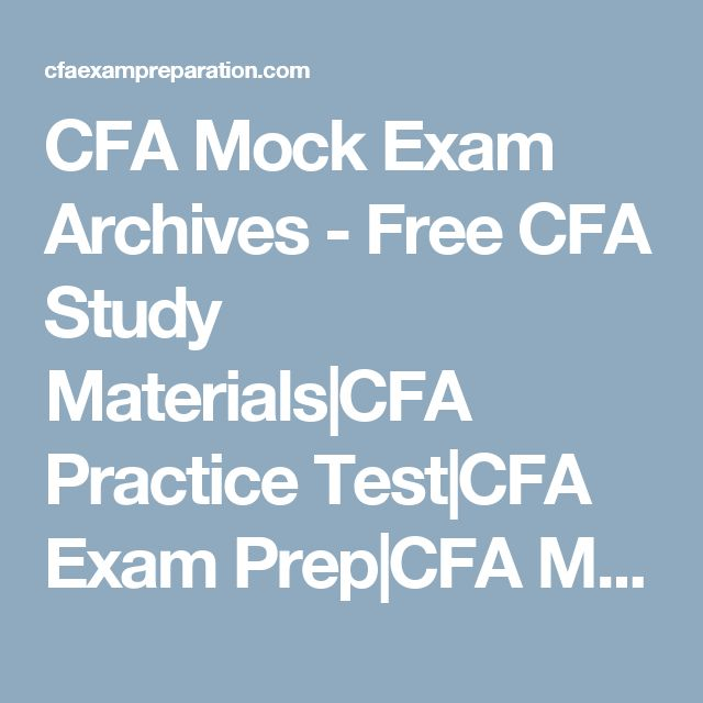 25 best CFA Level 2 images on Pinterest Question and answer - cfa candidate resume