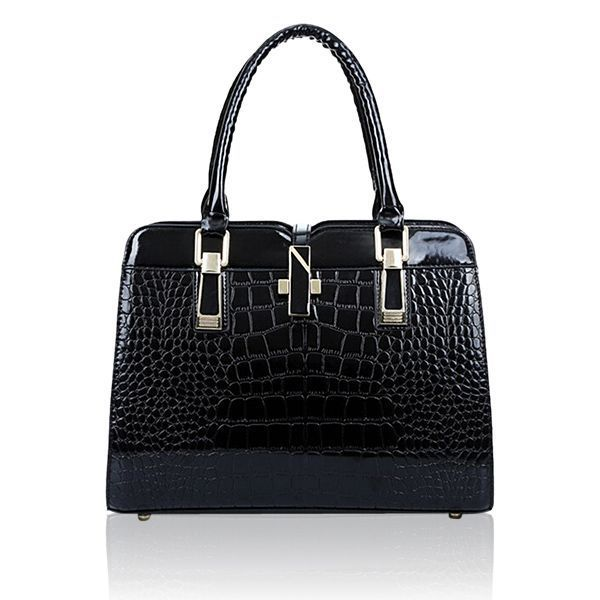 0b1b705d356b Women crocodile pattern handbags patent leather tote shoulder bags  crossbody bags handbags dsw  3  compartment  handbags  handbags  every   woman  needs ...