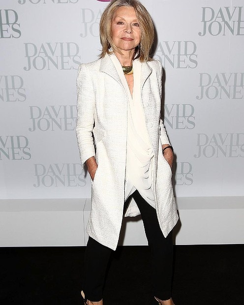Carla Zampatti attends the David Jones S/S 2012/13 Season Launch in Sydney.