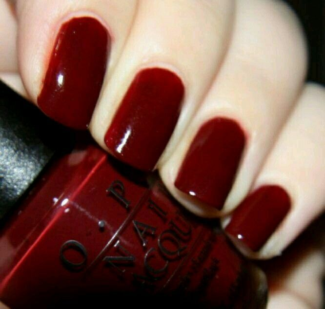 Nail Dip Powder Nyc: Best 25+ Dark Red Nails Ideas On Pinterest