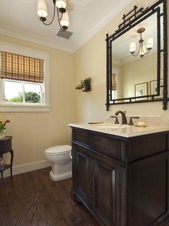 best 33 reference of bathroom black wood floors  modern