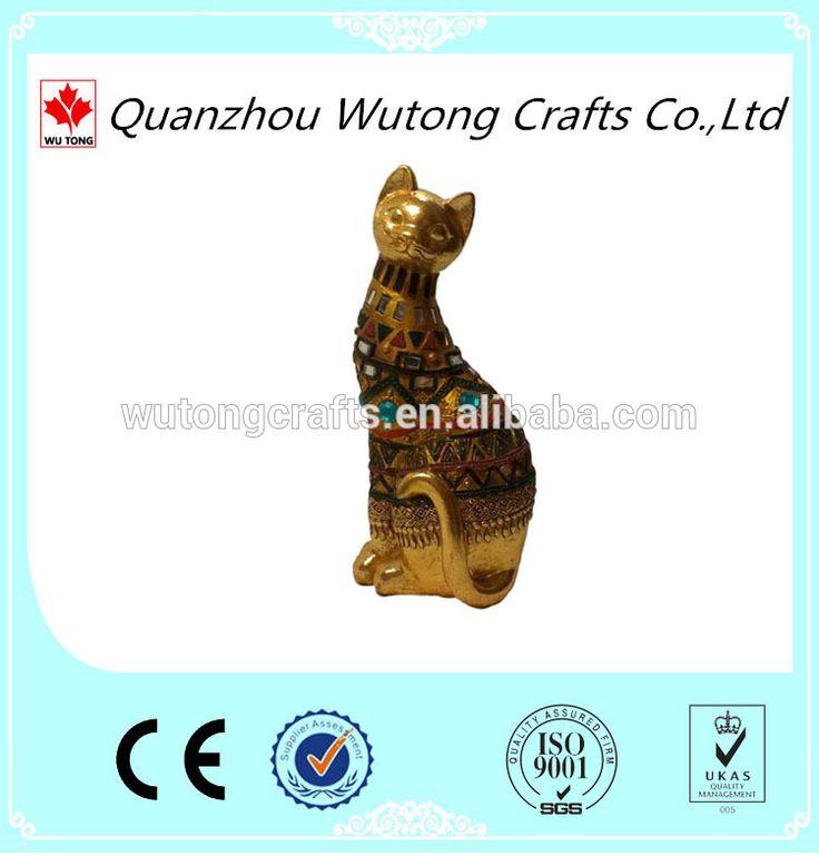 Египет смолы фигурки кошки оптовая продажа-изображение-Ремесла из смола-ID продукта:60332356163-russian.alibaba.com