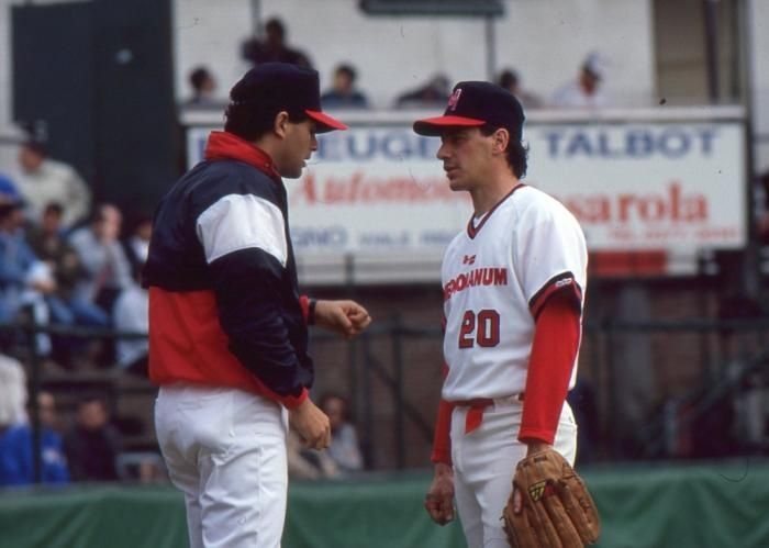 PHIL CUNDARI BIO Pt. II: He pitched in the Oakland organization for 4 years. At SHU, Cundari ranks second in career wins (26), third in games started (36) and sixth in strikeouts (217) while playing just three seasons. He capped off his career in fine fashion, garnering Big East Pitcher of the Year and Second Team All-America honors in 1985 after winning 12 games, striking out 98 and posting a 1.74 earned run average. Cundari's 1.22 ERA in Bg East games still stands as a conference record.