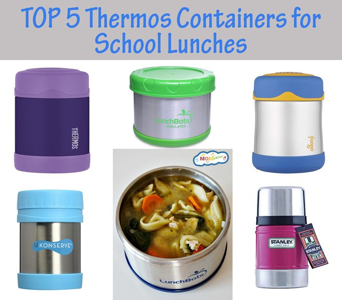 Want to know which thermos containers or insulated food jars performed best? Here we show you the top 5 thermos containers for school lunches