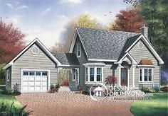 Plan de maison no. W2613 de DessinsDrummond.com