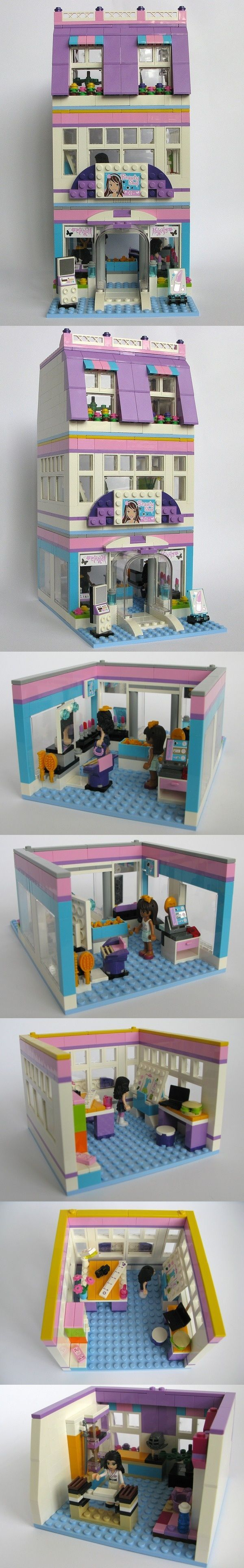 Lego Friends Beauty Shop MODs