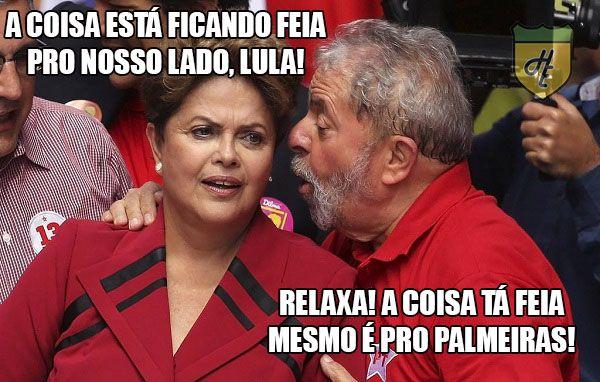 Olha a zoeira! Palmeiras vira piada após eliminação na ...