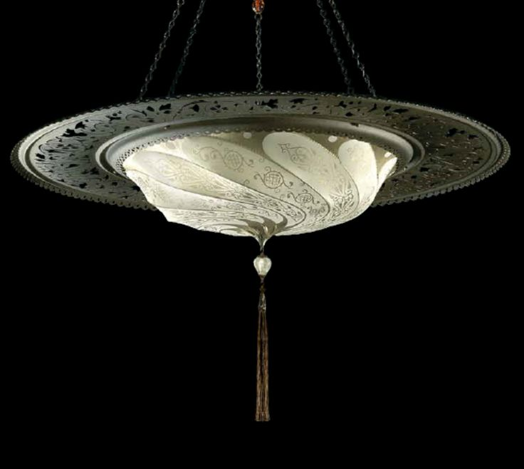 chandelier sophisticated lighting fabric glass lamps ebay fortuny antler paper replica