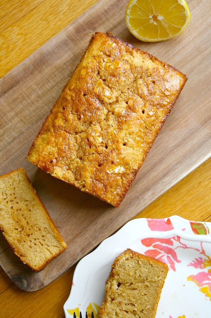 Gluten Free Glazed Lemon Pound Cake From Lauren Kelly