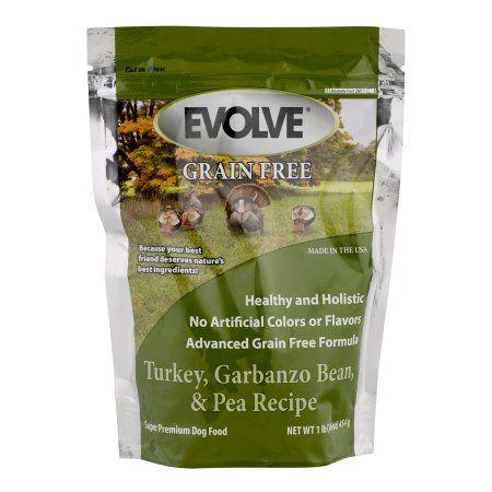 Evolve Grain Free Super Premium Dog Food Turkey, Garbanzo Bean & Pea Recipe, 16.0 OZ