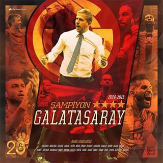 Sampiyonluk Galatasaray 4 yildiz ⭐⭐ ⭐ ⭐