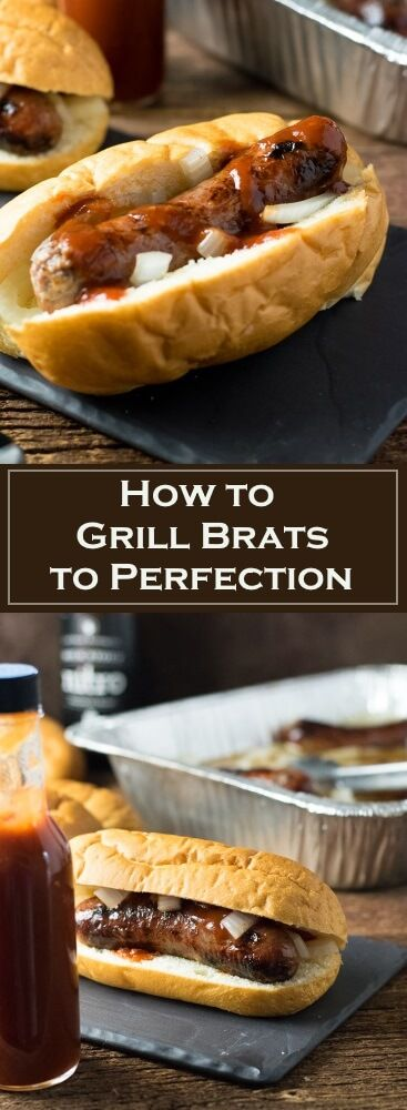 How to Grill Brats to Perfection via @foxvalleyfoodie