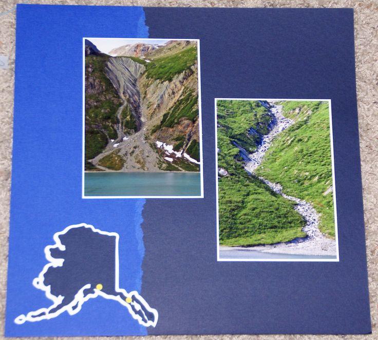 Alaska Major Cities Map%0A Alaska  u        College Fjord Glacier Bay  p     Scrapbook