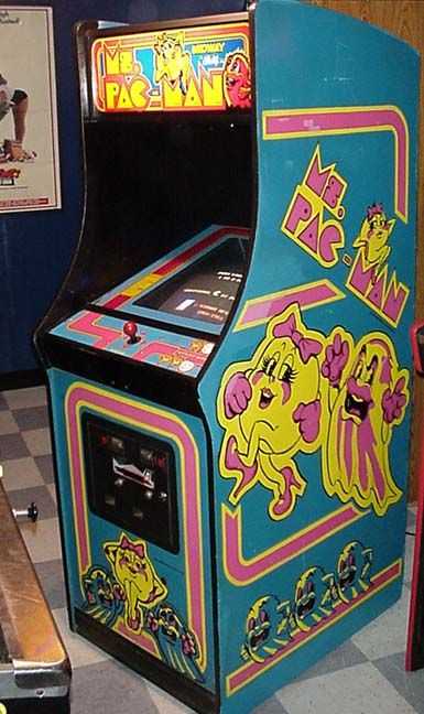 OMGosh! Spent many hours on Ms. Pac-Man in my teen years!