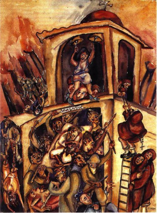 Masacre del 9 de Abril - Débora Arango