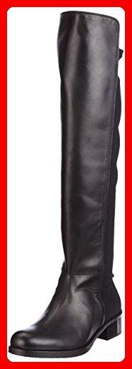 Tosca Blu Shoes Damen Livigno Stiefel, Schwarz (Nero), 38 EU - Stiefel für frauen (*Partner-Link)