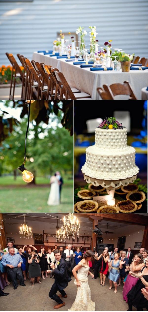 Southern style wedding decor