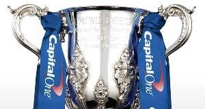 The Football League Cup, commonly known as the League Cup or, from recent sponsorship, the Capital One Cup, is an English association football competition. Capital One Cup is played on a knockout basis.